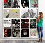 Howlin' Wolf Albums Quilt Blanket 02