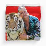 Tiger King Poster Documentary Tv Show Bedding Set  (Duvet Cover & Pillow Cases)