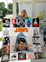 Jaws Quilt Blanket For Fans Ver 17-1