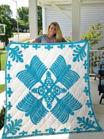 Hawaiian Pattern Quilt Blanket Great Customized Blanket Gifts For Birthday Christmas Thanksgiving