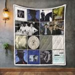 The Blue Nile Album Covers Quilt Blanket
