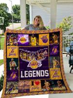 Los Angeles Lakers Legends All Season Plus Size Quilt Blanket