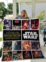 Star Wars Poster Quilt Blanket