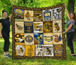 Ncaa Georgia Tech Yellow Jackets Quilt Blanket #103