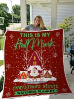 This Is My Hallmark Christmas Movie Watching Quilt Blanket Quilt Blanket