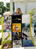 Greatest Rock Albums Quilt Blanket New