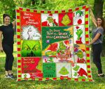 How The Grinch Stole Christmas Quilt Blanket For Christmas