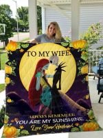 To My Wife Jack And Sally Ver 01 All Season Plus Size Quilt Blanket