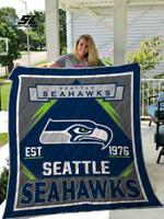 Seattle Seahawks Quilt Blanket 03