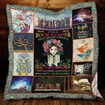 Books Reader Crazy Fantasy World Quilt Blanket Great Customized Gifts For Birthday Christmas Thanksgiving Perfect Gifts For Books Lover