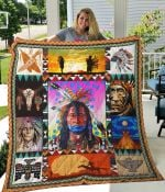 Awesome Native American Quilt Blanket Great Customized Blanket Gifts For Birthday Christmas Thanksgiving