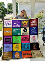 Singing I Don't Sing In The Car I Perform Quilt Blanket Great Customized Blanket Gifts For Birthday Christmas Thanksgiving
