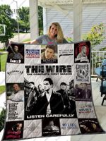 The Wire Quilt Blanket For Fans