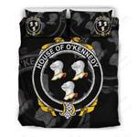 Kennedy Family Crest Shamrock Bedding Set (Duvet Cover & Pillow Cases)