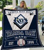 Tampa Bay Rays Quilt Blanket