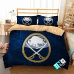Nhl Buffalo Sabres Logo 3d Printed Bedding Set (Duvet Cover & Pillow Cases)