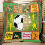 I'm Not A Regular Mom I'm A Soccer Mom Quilt Blanket Great Customized Blanket Gifts For Birthday Christmas Thanksgiving