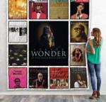 Stevie Wonder Compilation Albums Quilt Blanket 01