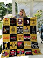 Nhl – Ottawa Senators 25 Quilt Blanket