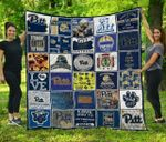 Ncaa Pittsburgh Panthers Quilt Blanket #228