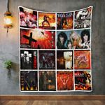 W.A.S.P.  Album Covers Quilt Blanket