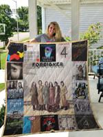 Foreigner  Albums Quilt Blanket For Fans Ver 17