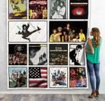 Sly &Amp; The Family Stone Albums Quilt Blanket 02