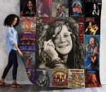 Janis Joplin 03 Quilt Blanket