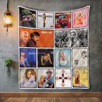 Nancy Sinatra Album Covers Quilt Blanket
