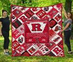 Rutgers Scarlet Knights Rsk Quilt Blanket