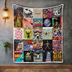 Diplo Album Covers Quilt Blanket