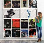 Miles Davis Quilt Blanket 04