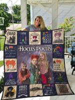 Hocus Pocus Quilt Blanket Custom
