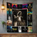 The Weeknd Album Covers Quilt Blanket