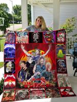 Metallica Quilt Blanket Ver Christmas