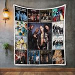 Pretty Ricky Album Covers Quilt Blanket