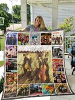 Stray Cats Albums Cover Poster Quilt Blanket