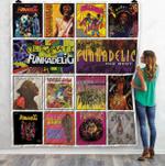 Funkadelic Compilations Albums Quilt Blanket 01