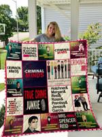 Criminal Minds V2 Quilt Blanket