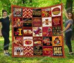 Ncaa Iowa State Cyclones Quilt Blanket #309