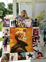 David Bowie Albums Quilt Blanket For Fans Ver 17