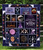 I'm Not The Beauty You Wanted I'm The Witch You Needed Quilt Blanket Great Customized Blanket Gifts For Birthday Christmas Thanksgiving