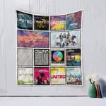 Hillsong United  Quilt Blanket