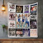 After School Album Covers Quilt Blanket