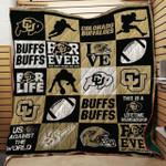 Ncaa Colorado Buffaloes Quilt Blanket #624