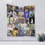 Robbie Williams Quilt Blanket