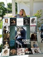 Gone Girl T-Shirt Quilt Blanket