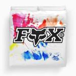 Fox Racing Duvet Cover Bedding Set