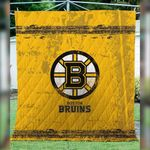 Boston Bruins Quilt Blanket 03