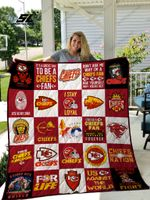 Kansas City Chiefs Quilt Blanket 02